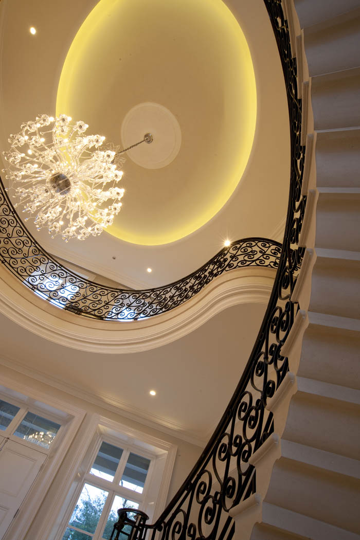 30. Moleanos stone cantilever staircase with ogee soffit – Belfast