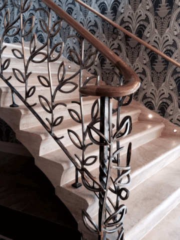 63. Ancaster Weatherbed Cantilevered Stone Staircase – Chester